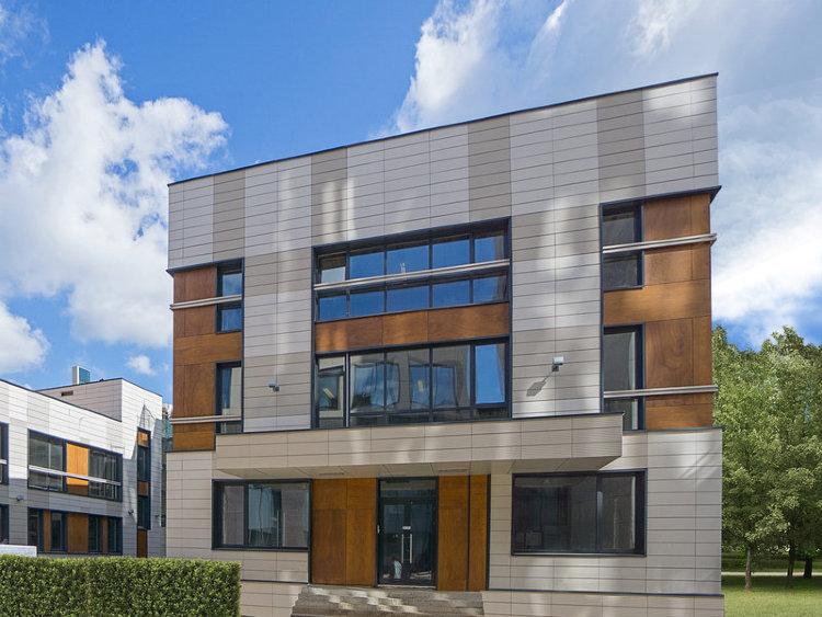 Цвета фасадов офисных зданий домов фото